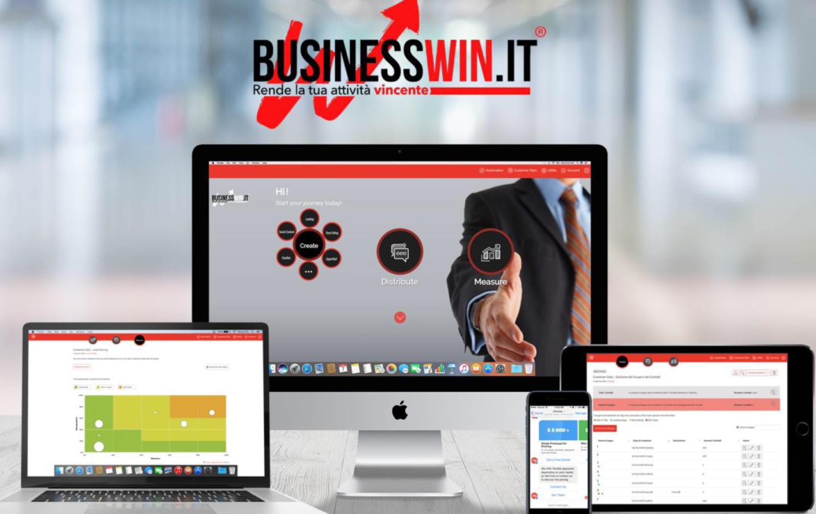 Scopri i tools digitali di BUSINESSWIN.it, la piattaforma integrata: un solo strumento, tanti vantaggi.