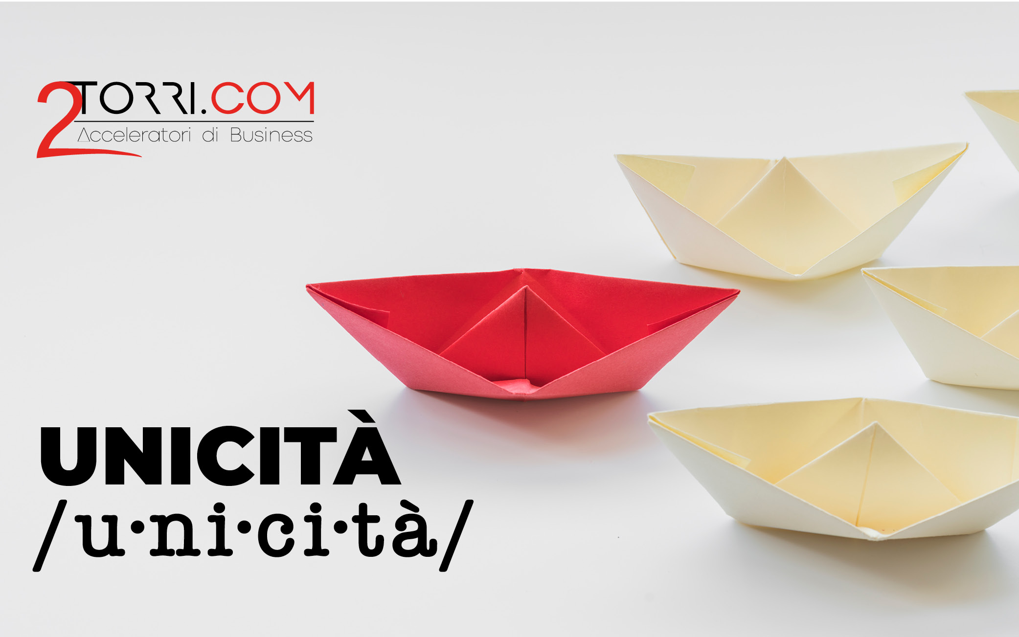 Unicità /u·ni·ci·tà/