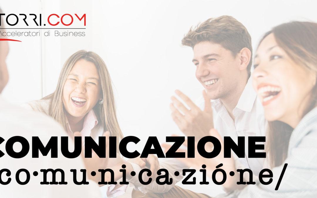 Comunicazione /co·mu·ni·ca·zió·ne/